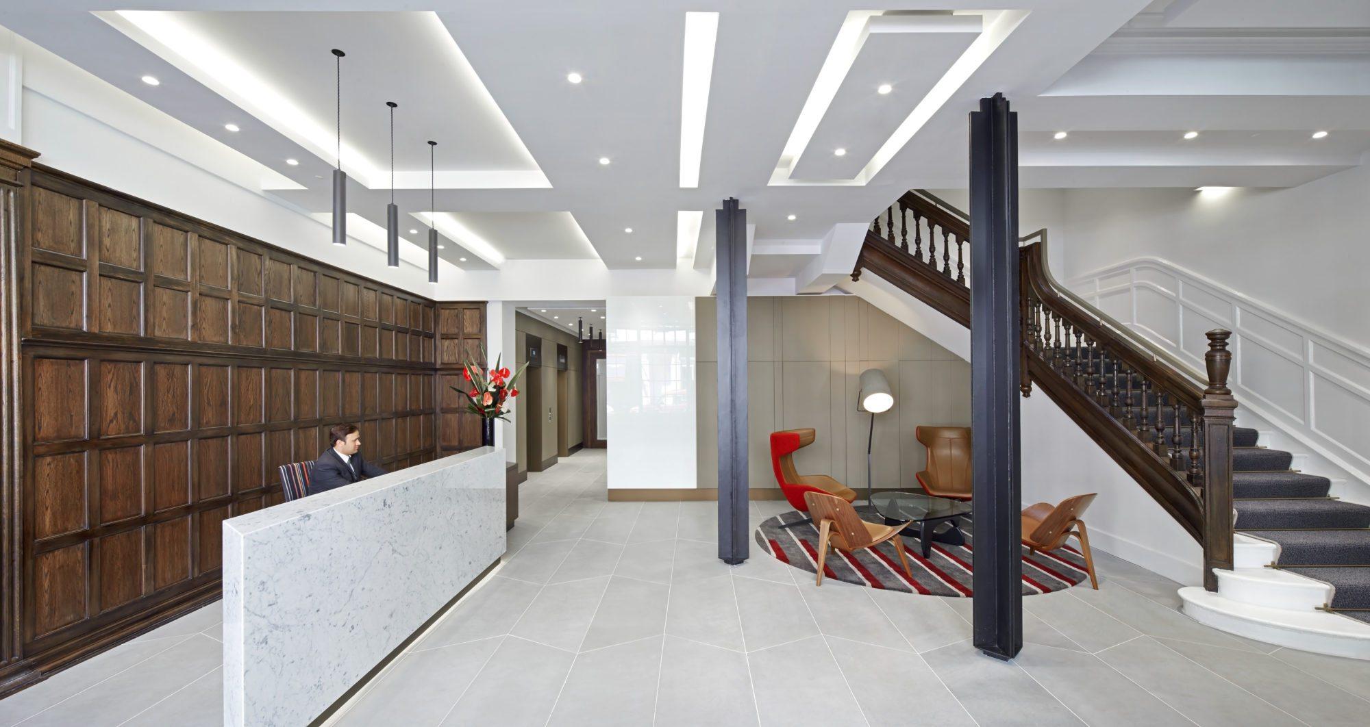 10 Bedford Street Lobby